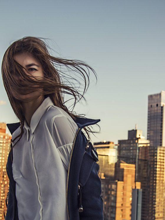 shoot de mode a New York